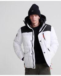Superdry White Sd Explorer Jacket for men