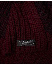 Superdry Multicolor Etoile Parisian Scarf