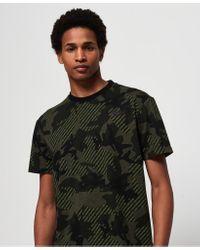 Superdry Green Orange Label Urban Printed Box T-shirt for men
