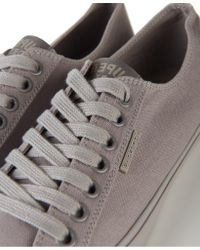 Superdry - Gray Low Pro Sleek Mono Sneakers for Men - Lyst