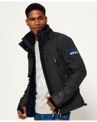 Superdry Black Polar Sd-windattacker Jacket for men