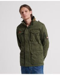 Superdry Multicolor Classic Rookie Pocket Jacket for men