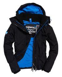 Superdry Multicolor Pop Zip Hooded Arctic Windcheater for men