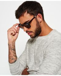 Superdry Brown Premium Handcrafted San Sunglasses