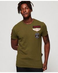 Superdry Green Plane Flyers T-shirt for men