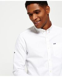 Superdry White Ultimate Oxford Shirt for men