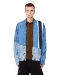 Greg Lauren Blue 50/50 Birdwell Jacket for men