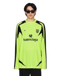 Футбольный Лонгслив С Логотипом Balenciaga, цвет: Green