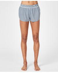 Sweaty Betty Blue Surf Board Shorts