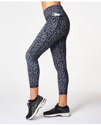 Sweaty Betty Multicolor Zero Gravity High-waisted 7/8 Running Leggings