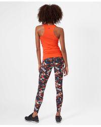 Sweaty Betty Orange Athlete Seamless Workout Tank