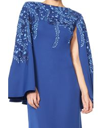Tadashi Shoji   Blue Kariya Gown   Lyst
