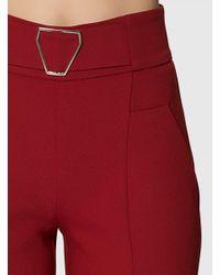 Roman Red Flare Long Pants