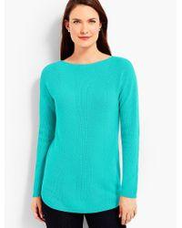Talbots Blue Bateau Sweater