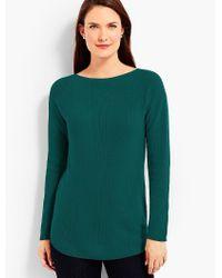 Talbots - Green Bateau Sweater - Lyst