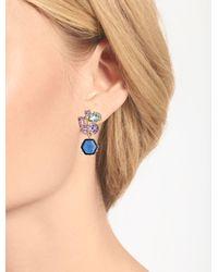 Talbots Pink Cluster Earrings