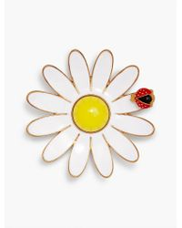 Talbots - Multicolor Daisy And Ladybug Brooch - Lyst