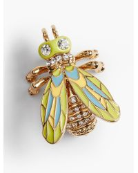 Talbots - Metallic Fly-on-the-wall Pin - Lyst
