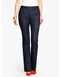 Talbots Blue Raleigh Pant