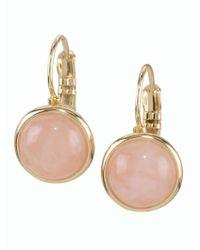 Talbots - Metallic Cabochon Drop Earrings - Lyst