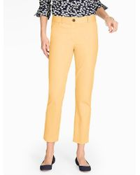 Talbots Multicolor The Perfect Crop