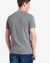 Ted Baker - Gray Eagle Graphic Crew Neck T-shirt for Men - Lyst