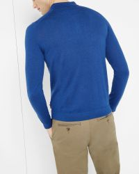 Ted Baker | Blue Polo Shirt for Men | Lyst