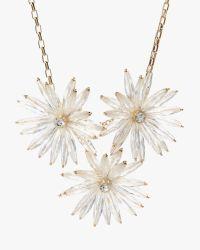Ted Baker | Multicolor Starburst Flower Necklace | Lyst