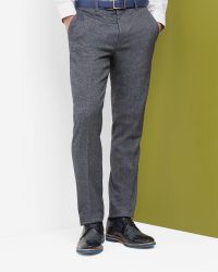 Ted Baker Blue Cerstro Tailored Trousers for men