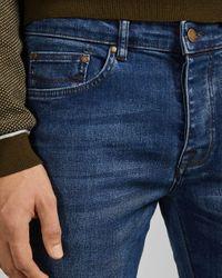Ted Baker Jeans Mit Geradem Schnitt in Blue für Herren