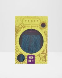Ted Baker - Blue Polka Dot Boxers for Men - Lyst