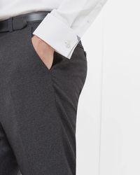 Ted Baker - Multicolor Debonair Wool Trousers for Men - Lyst