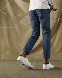 Ted Baker - Blue Slim Fit Cotton Chinos for Men - Lyst