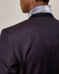Ted Baker - Multicolor Pashion Jacquard Suit Jacket for Men - Lyst