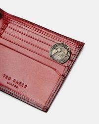 Ted Baker Multicolor Bi-fold Leather Wallet for men