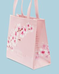 Ted Baker - Pink Soft Blossom Small Icon Bag - Lyst
