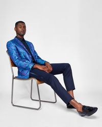 Ted Baker - Blue Pashion Paisley Dinner Jacket for Men - Lyst