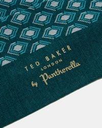 Ted Baker - Green Samares Geo Socks for Men - Lyst