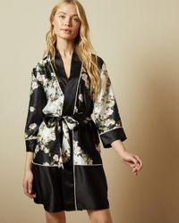 Kimono Imprimé Opal Ted Baker en coloris Black