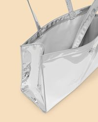 Ted Baker Metallic Mirrored East West Icon Bag
