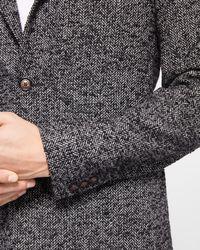Ted Baker - Gray Herringbone Blazer for Men - Lyst