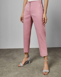 Ted Baker Pink Anzughose