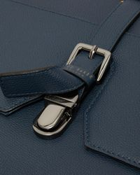 Ted Baker - Blue Leather Messenger Bag for Men - Lyst