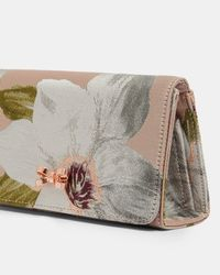 Ted Baker - Pink Chatsworth Bloom Bow Evening Bag - Lyst