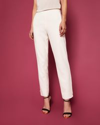 Ted Baker Natural Pearl Detail Skinny Trousers