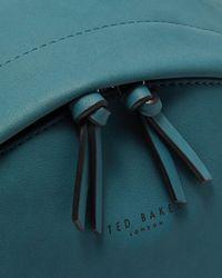 Ted Baker Multicolor Faux Nubuck Backpack for men