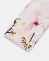 Ted Baker Pink Coffee Harmony Iphone 6/6s/7/8 Case In Blue