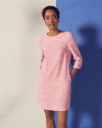 Ted Baker Pink Fish Print Shift Dress