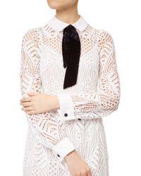 Temperley London White New Moon Dress