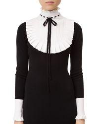 Temperley London Black Sigmund Knit Dress